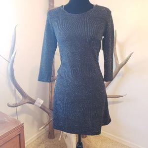 5/$25 🌵 Trixxi Shimmer Black Mini Dress 🌵 |NWT|